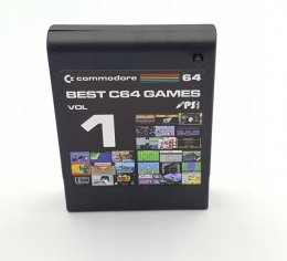 Best C64 GAMES VOL 1 cartridge gry commodore