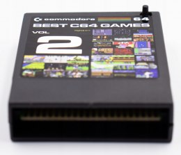 Best C64 GAMES VOL 2 cartridge gry commodore