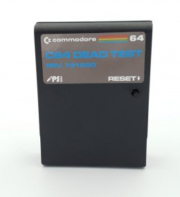 C64 C128 DEAD TEST Cartridge REV 781220